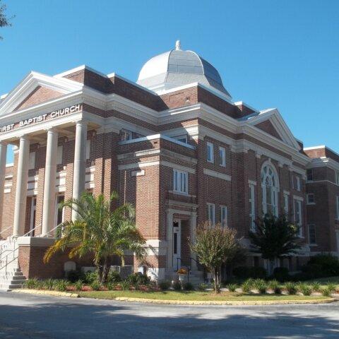 First Baptist Church Exterior